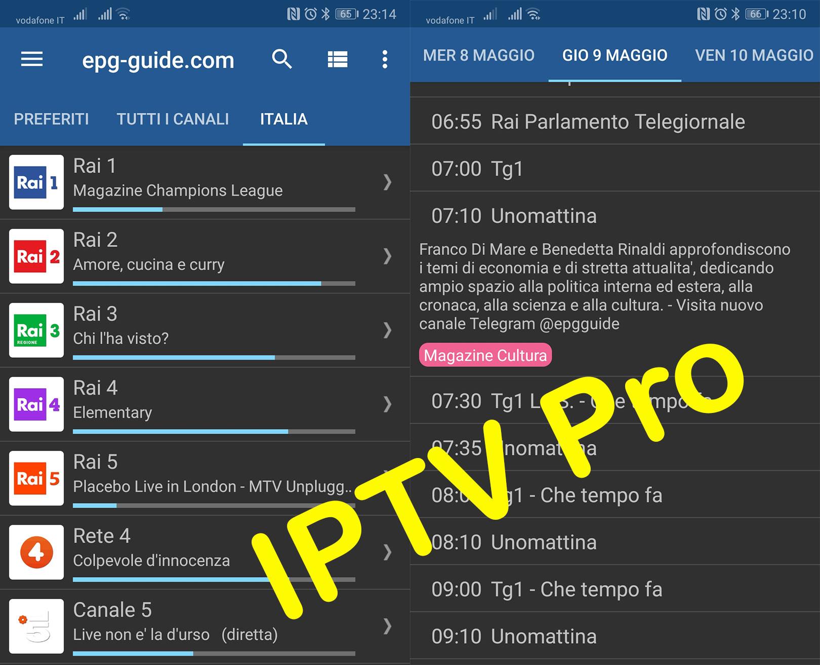 www epg-guide net